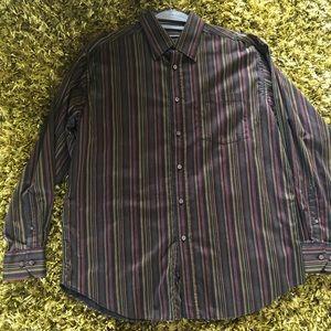 Men's Bugatchi long sleeve shirt